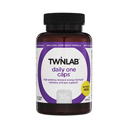 Twinlab Daily One Without Iron and With Floraglo - 60 Capsules