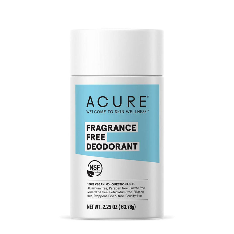 Deodorant Stick, Fragrance Free - 2.2 oz.Acure - My Vendor