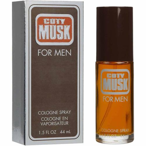 Coty, Musk Cologne Spray (for men) - 1.5 fl. oz.