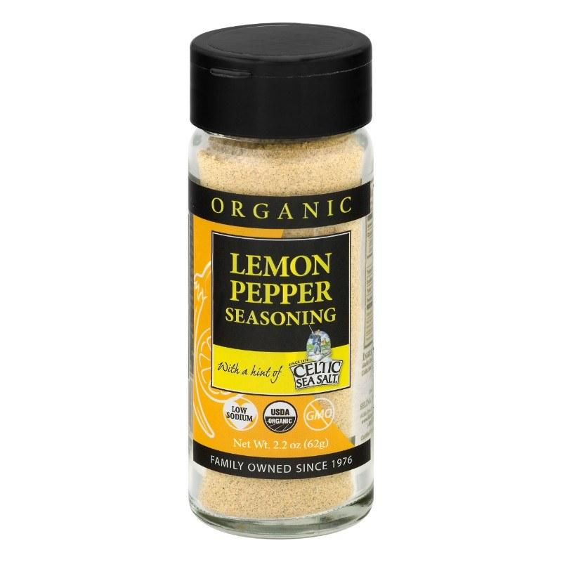 Celtic Sea Salt Lemon Pepper Seasoning, 2.2 oz.Selina Natually - My Vendor