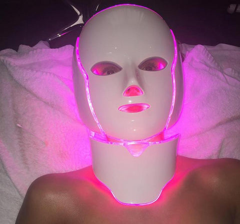 Face & Neck Rejuvenating LED Pro Treatment Mask