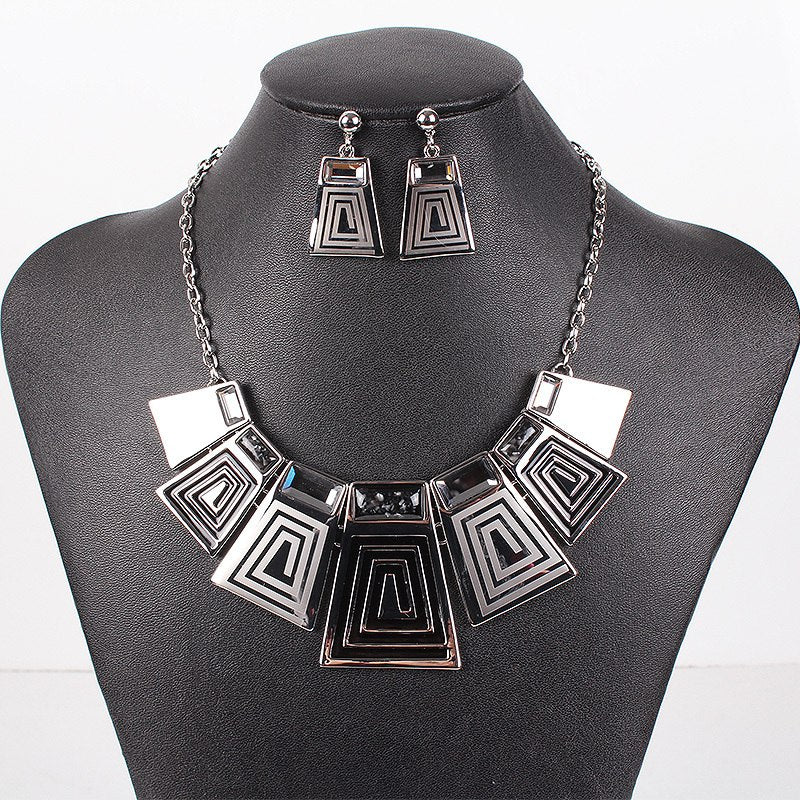 Aztec Spiral Jewelry Sets
