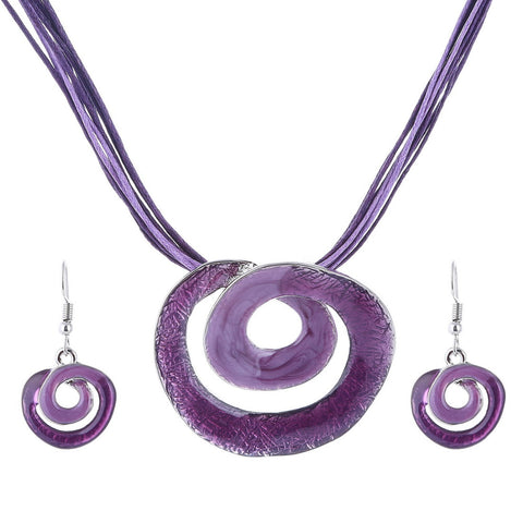 African Swirl Jewelry Sets