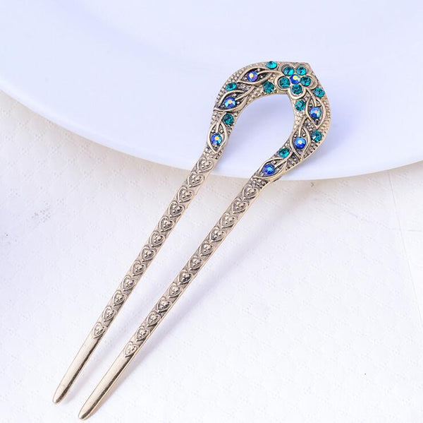 Antique Bronze Plated Hairpins
