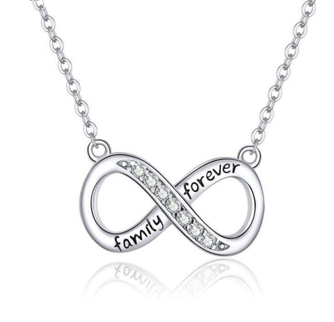 Family Forever Infinity Necklace
