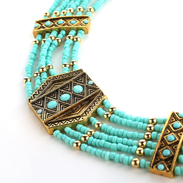 Tribal Beaded Necklaces