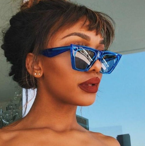 Stylish Square Cat Eye Sunglasses