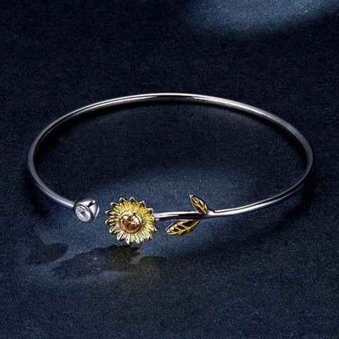 Sunflower Crystal Bracelets