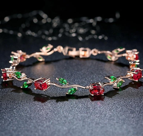 Crystal Rose Inspired Bracelets