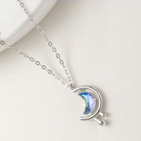 Moon In The Water Necklace