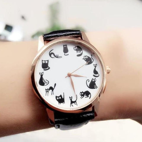Cute Cat Wristwatch