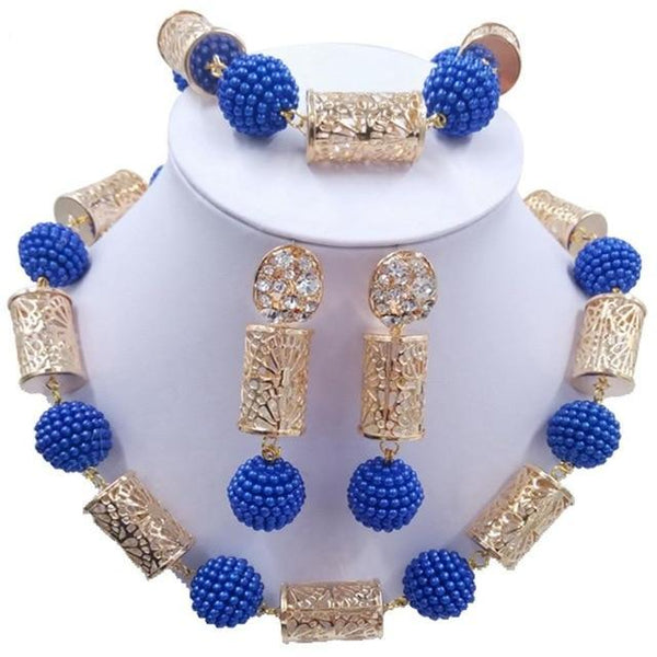 Wild Flower African Crystal Jewelry Sets