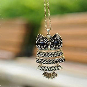 Boho Owl Necklace
