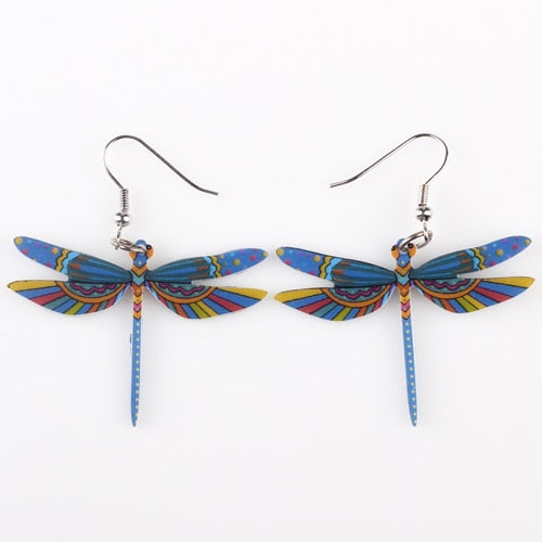 Summer Style Dragonfly Earrings