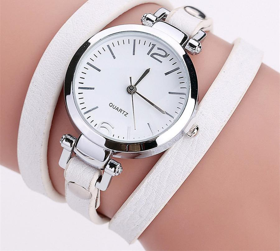 Leather Bangle Watches