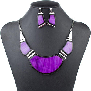 Purple Passion Aztec Jewelry Set