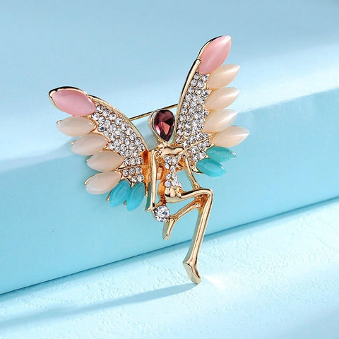 Delicate Angels Brooch