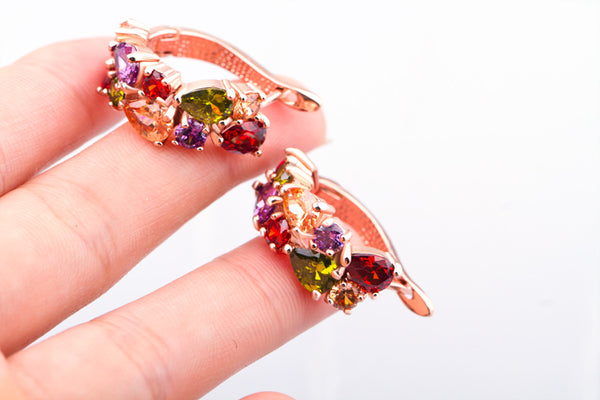 Unique Crystal Earrings