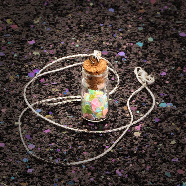 Gemstone Jar Necklaces