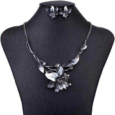 Mystic Flower Jewelry Set