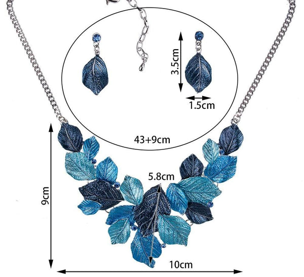 Falling Leaves Jewelry Sets