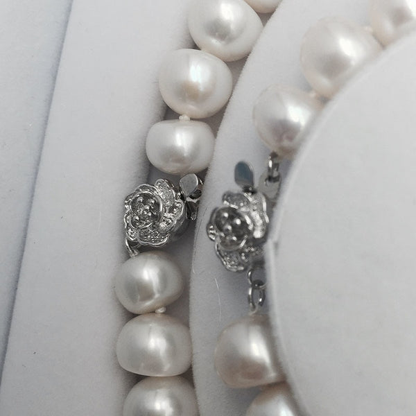 Elegant Pearl Bridal Jewelry Sets