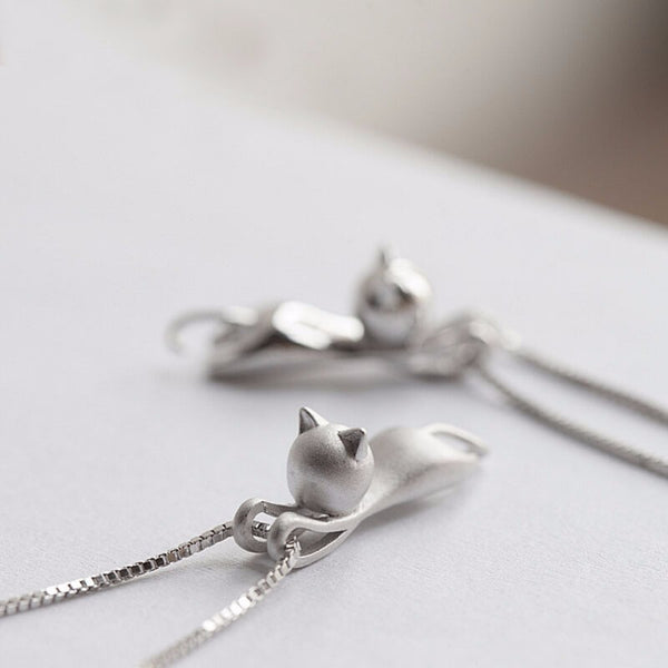 Cute Cat Pendant Necklaces