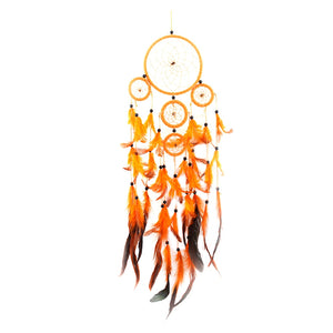Handmade Flame Feather Dream Catcher