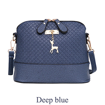 Deer Charm Quilted Styled Handbag