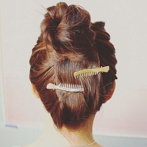 Comb Styled Hair Clips
