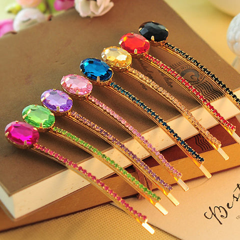 Candy Crystal Hair Jewelry