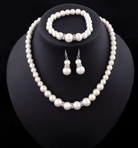 Pearl Costume Jewelry Sets
