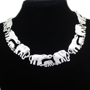 African Elephant Link Necklaces
