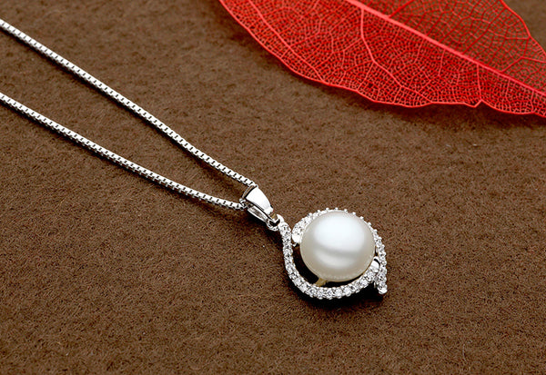 Natural Pearl & Sterling Silver Bridal Jewelry Sets
