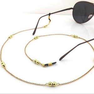 Gold Vintage Eyeglass Chain