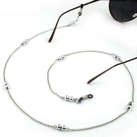 Silver Vintage Eyeglass Chain
