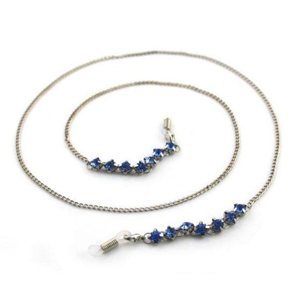 Royal Blue Vintage Eyeglass Chain