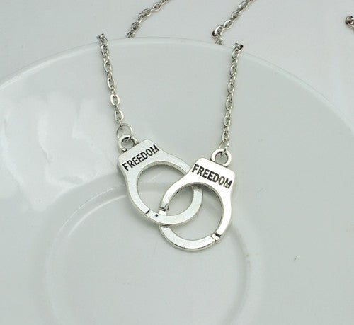 Handcuff Pendant Necklaces