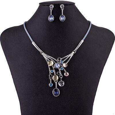 Falling Star Gem Jewelry Set