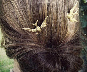Vintage Swallow Hair Jewelry