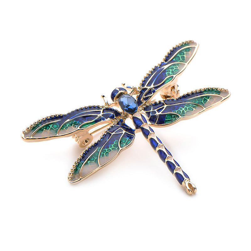 Luxurious Dragonfly Brooches