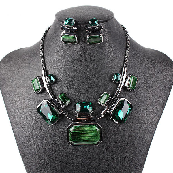 Glazed Gem Jewelry Sets