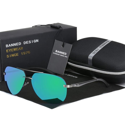 Banned 1976 Designer Aviation Sunglasses