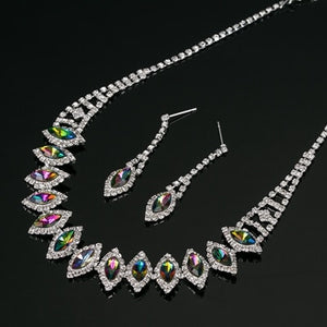 Rainbow Gem Jewelry Set