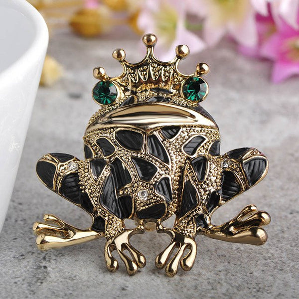 Frog Prince Brooches