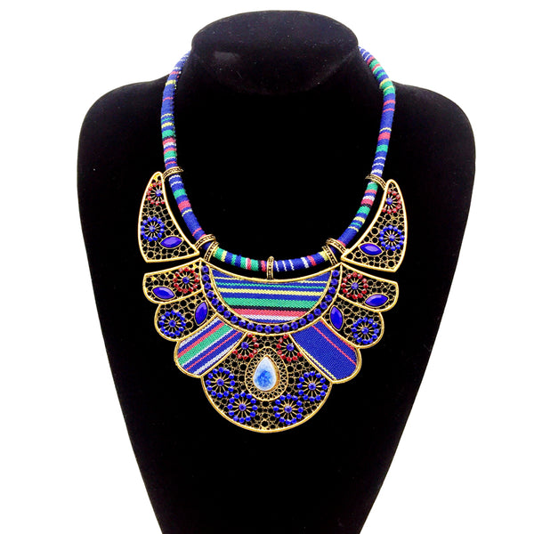 Bohemian Teardrop Tribal Chokers