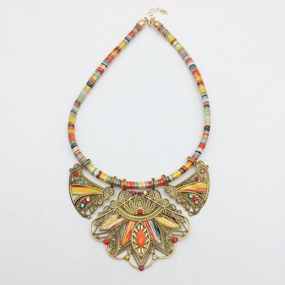 Tribal Summer Sun Choker & Earrings