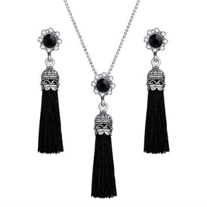 Antique Tassel Jewelry Set