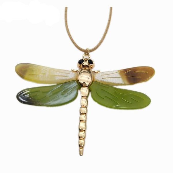 Dragonfly Collar Pendants