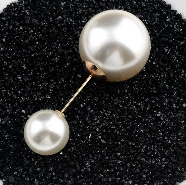 Pearl Button Brooch
